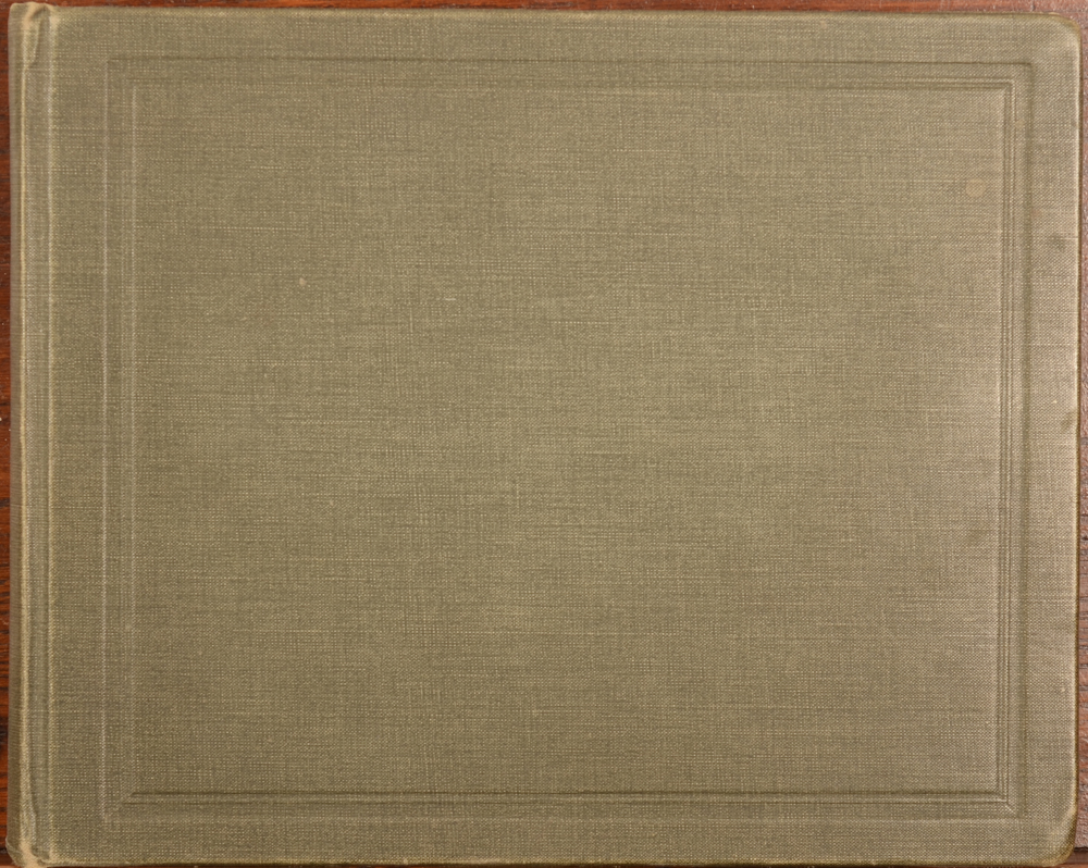 Alfred Schoep — Album cover, oblong, 21 x 26 cm