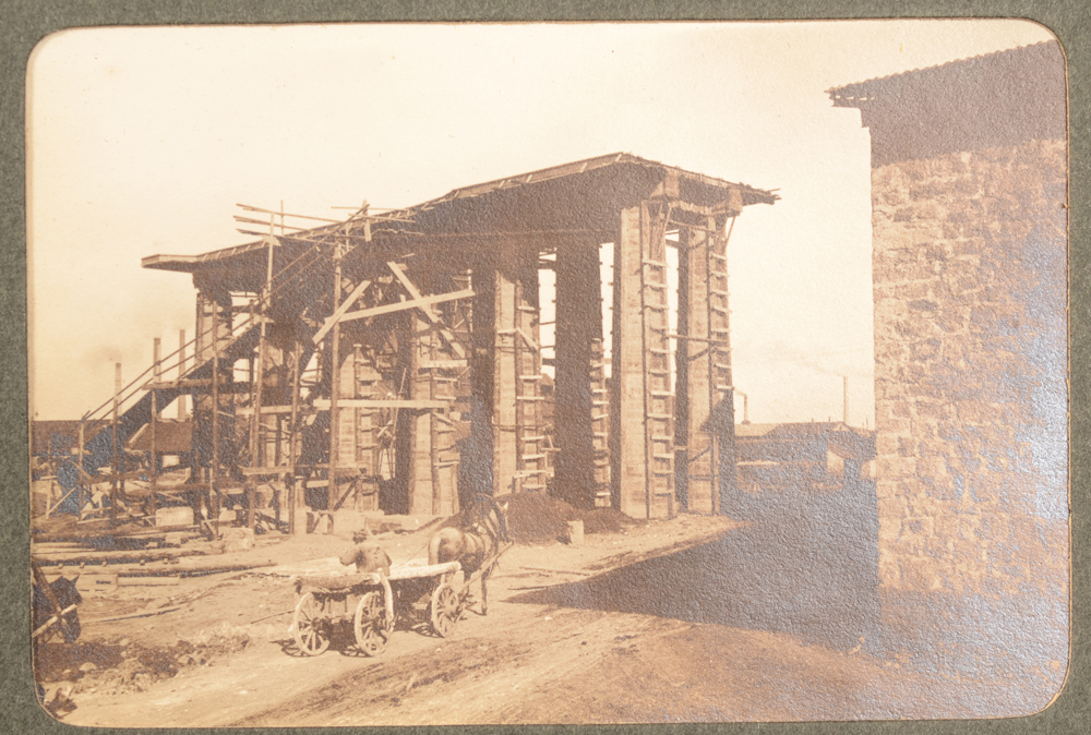 Alfred Schoep — Construction site