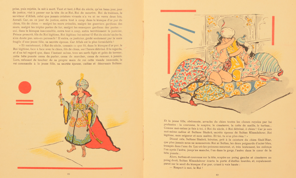 Armand Rassenfosse — Detail of the illustrations in the text