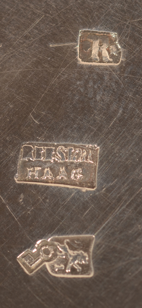 Firm of G.C. Reeser and son — Marks on the bottom of the piece
