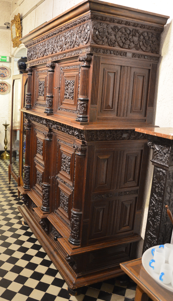 Dutch Renaissance cupboard — the right hand side