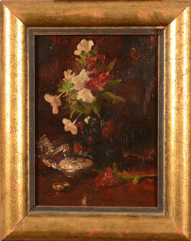 Willem Elisa Roelofs Jr. — The painting in its frame