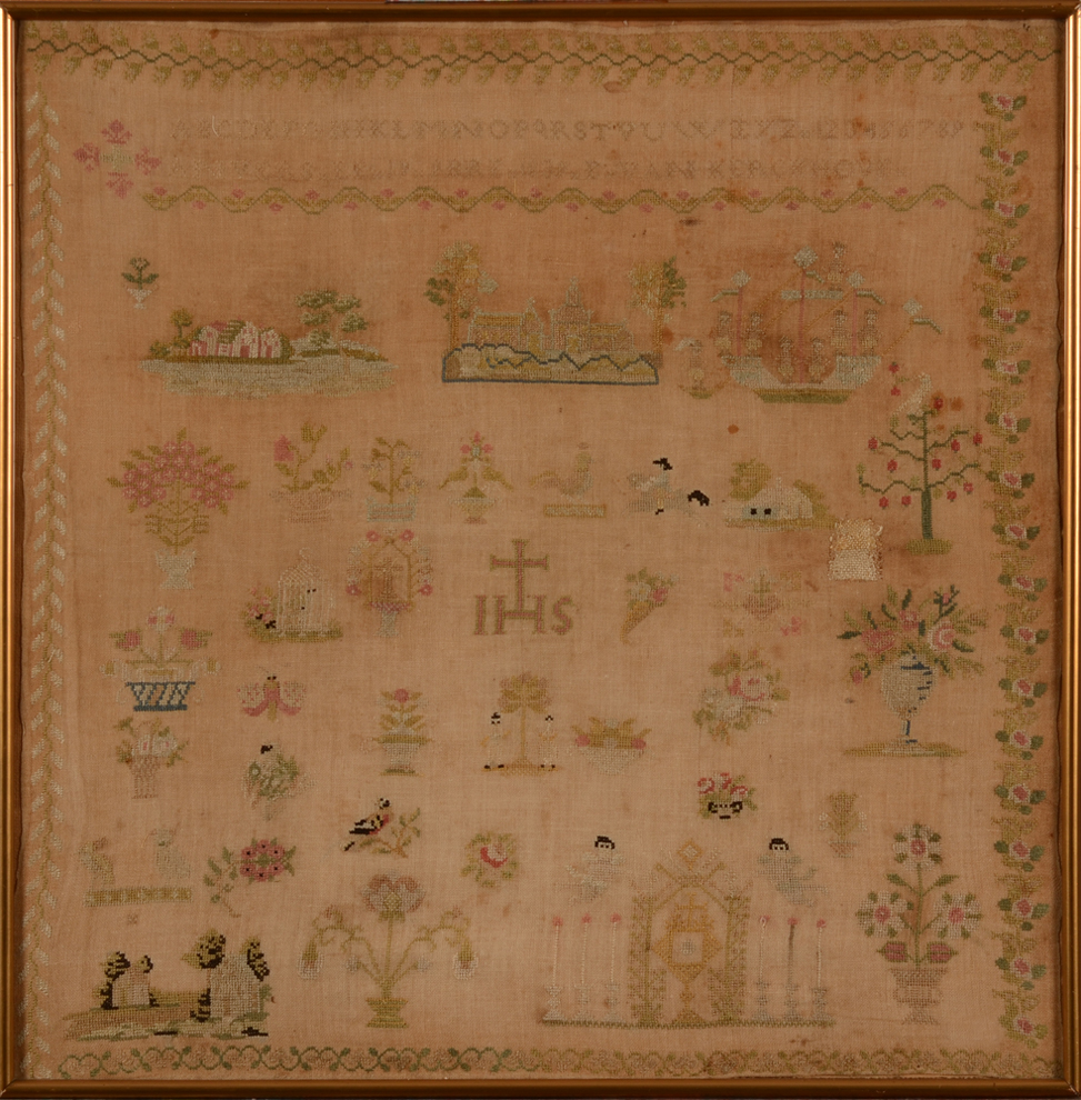 Van Kerckhove — An Antwerp made dated 1839 sampler