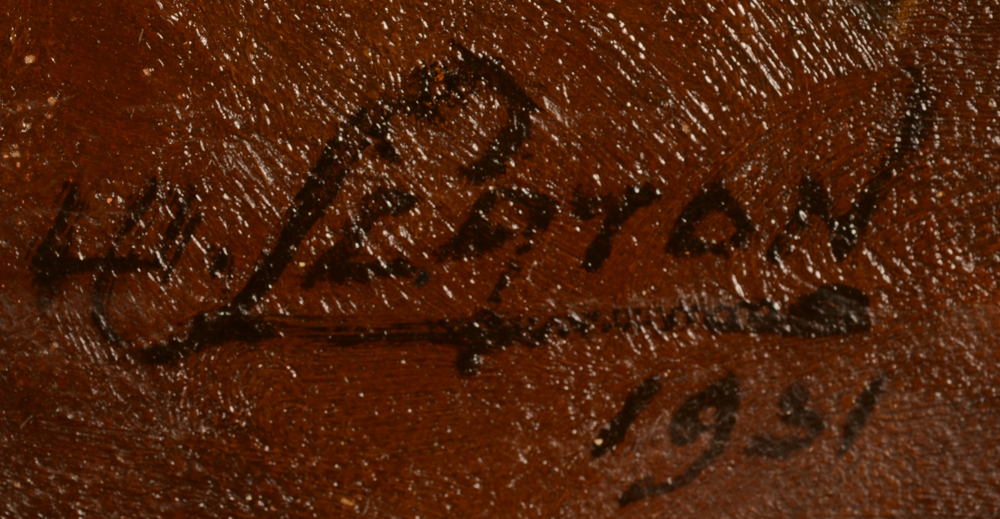 Willy Scaton — Signature of the artist and date, bottom right