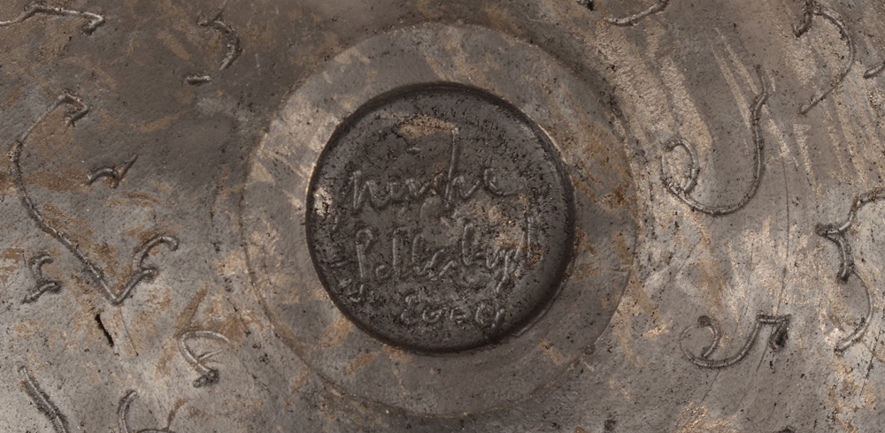 Mieke Selleslagh — Signature of the artist and date on the bottom of the base