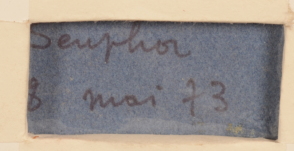 Michel Seuphor — <p>Signature of the artist and date, bottom right</p>