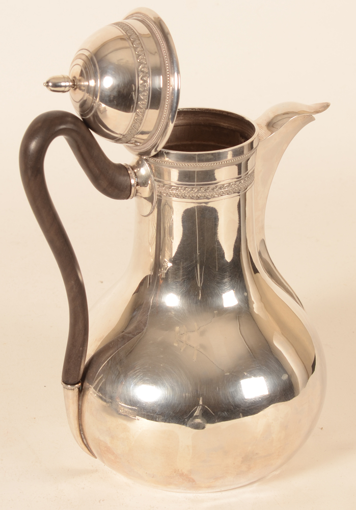 Bernardus Van Bosterhaudt — The coffeepot with the lid open<br>