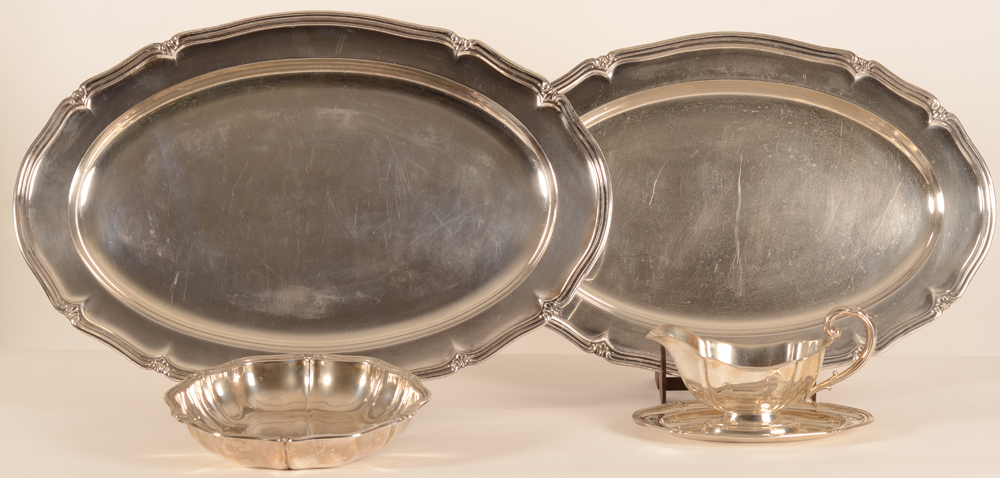 Silver platerie set
