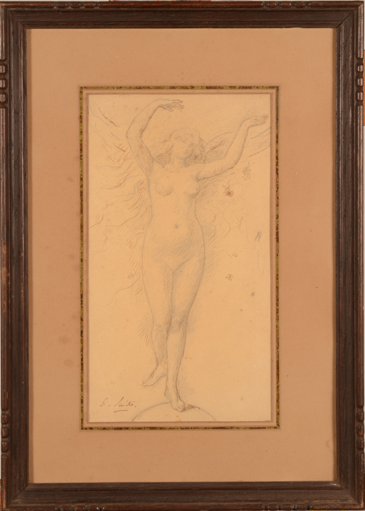 Eugène Smits  — The drawing in its period frame