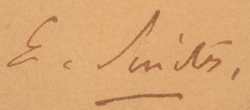 Eugène Smits  — signature of the artist, bottom left