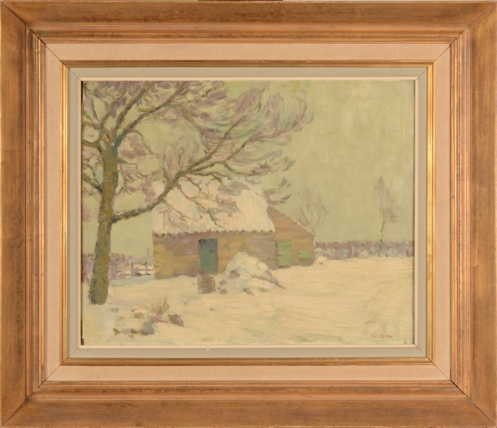 Octave Soudan — The painting in its frame