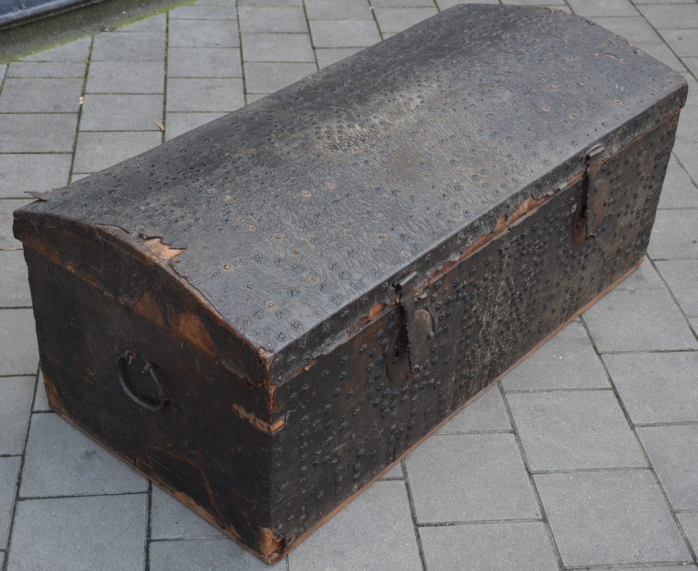 Spanish nail trunk — View from the left side