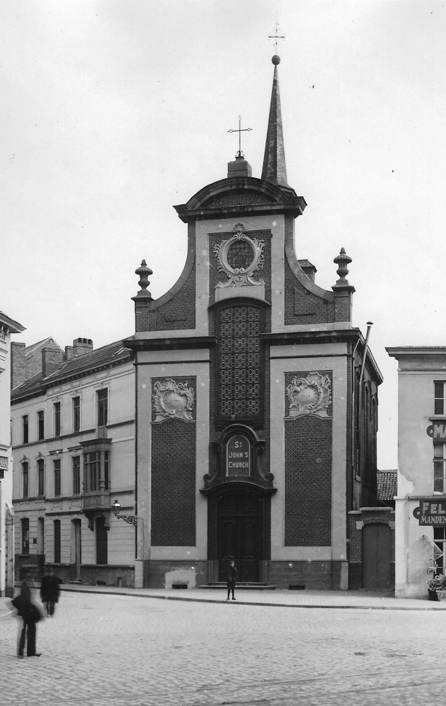 St-John — The chapel St-John, Ghent in 1899