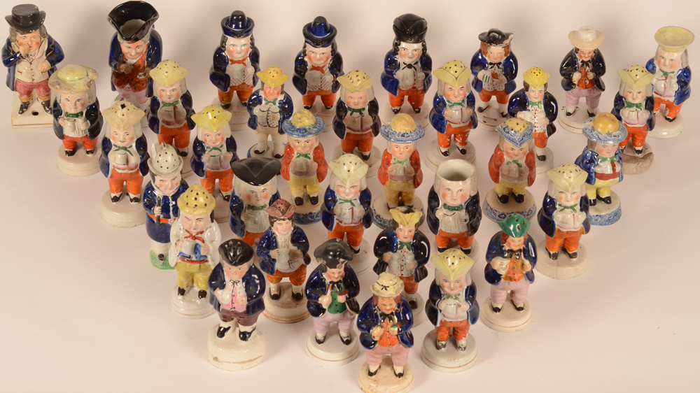 Staffordshire collection — Birdseye view of our Staffordshire army
