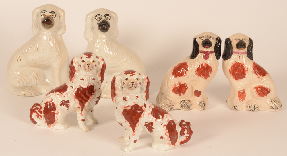 Staffordshire collection — Oh yes, with dogs