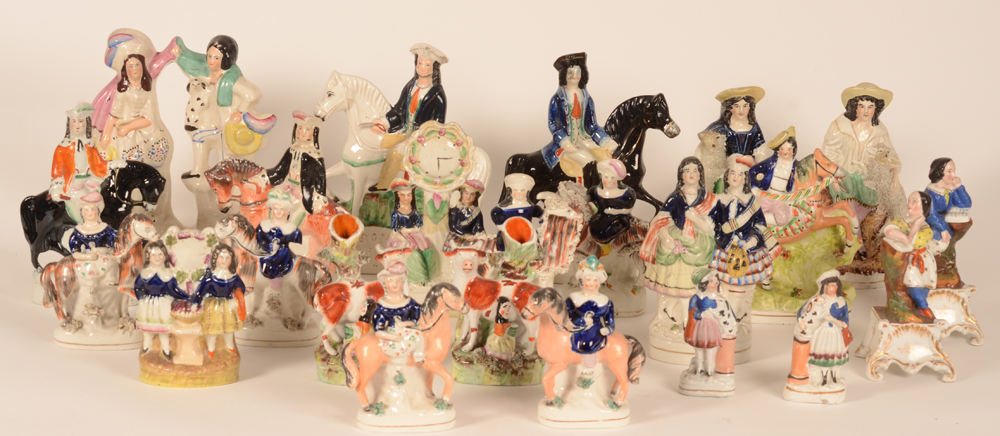 Staffordshire collection — Dick Turpin and other nice fellows and ladies