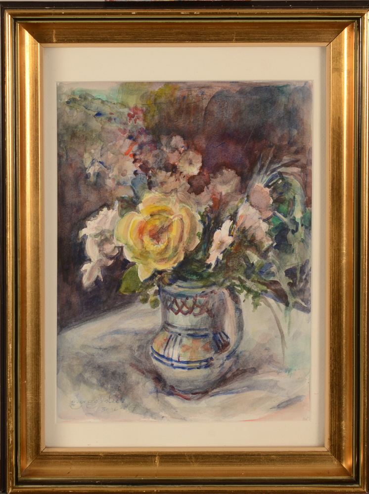Georges Steel — The watercolour in its basic frame