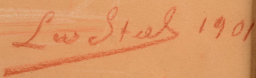 Leo Steel — Signature of the artist and date, bottom right