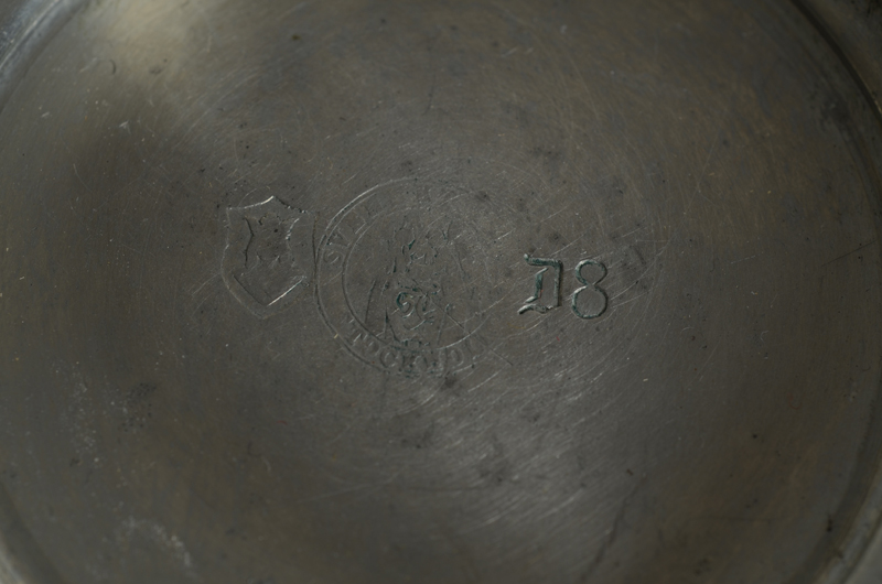 Svenskt Tenn — Marks on the bottom of the piece.