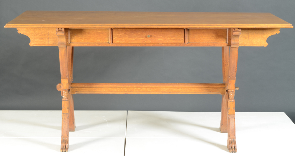 Matthias Zens — Side view showing the drawer.