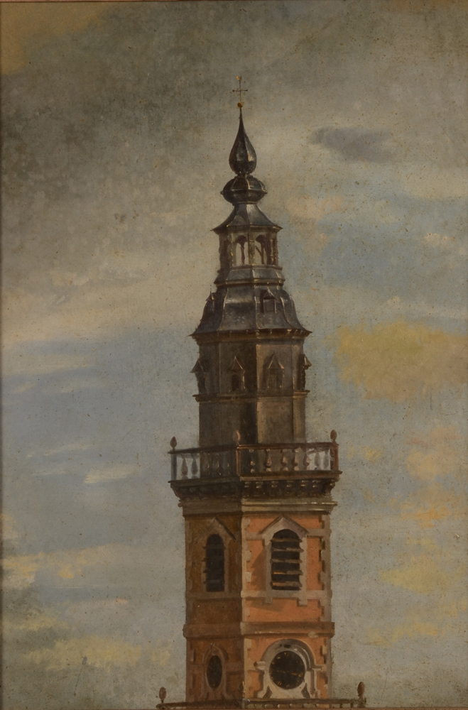 The tower of Nieuwenbosch in Ghent — Sans le cadre<br>