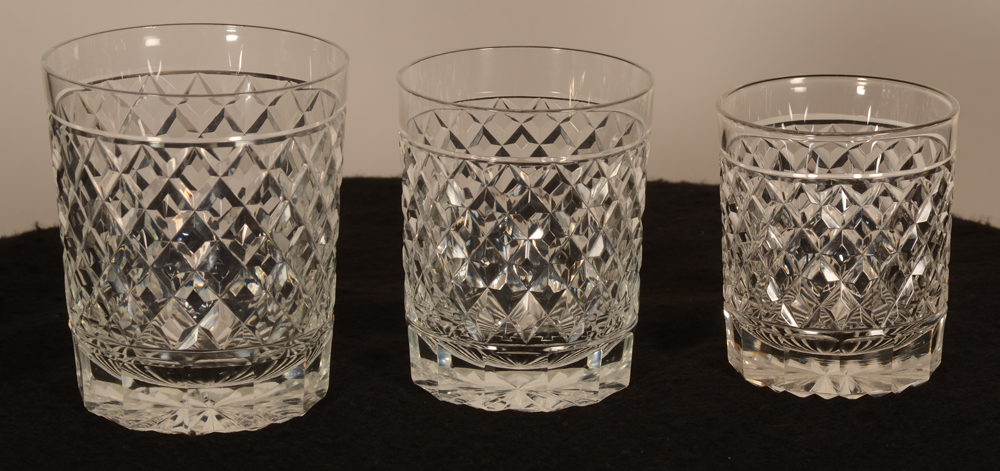 Crystal whiskey glass 104 mm — Disponible en 3 tailles