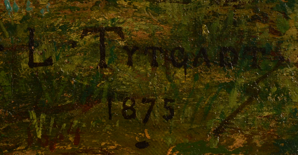Louis Tytgadt — Signature of the artist and date bottom right