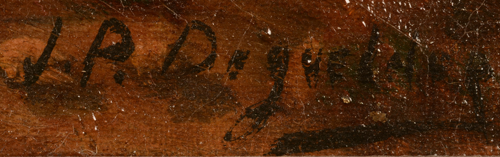 Unknown Artist — Signature of the artist, bottom right but difficult to read