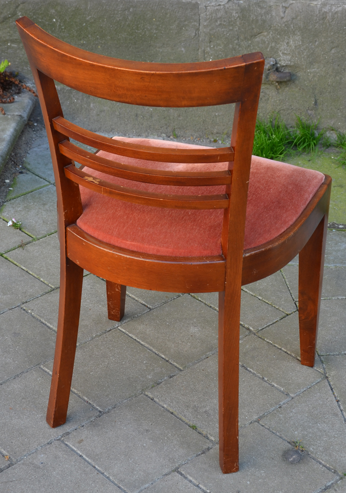 Charles van Beerleire — View from the back of one of the mahogany chairs