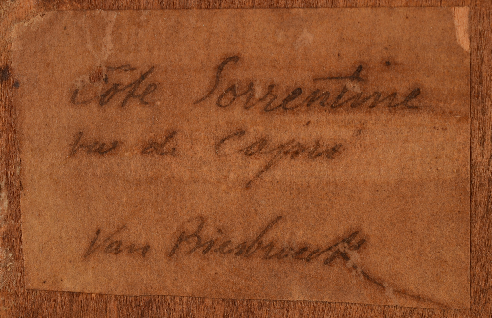 Jules Van Biesbroeck — <p>Hand written label at the back</p>