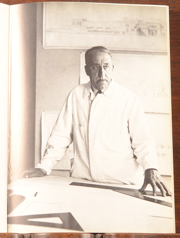 Henry Van de Velde — Portrait of the artist, one of the photographs of the Brussels 1963 catalogue
