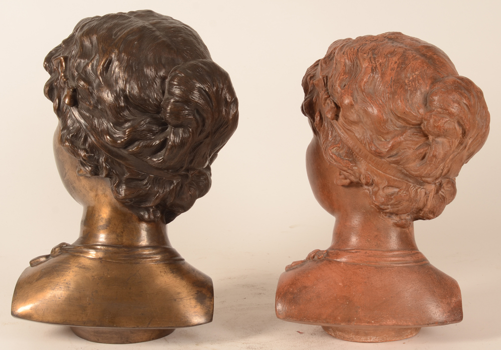 Domien Van den Bossche — Another view of the busts.