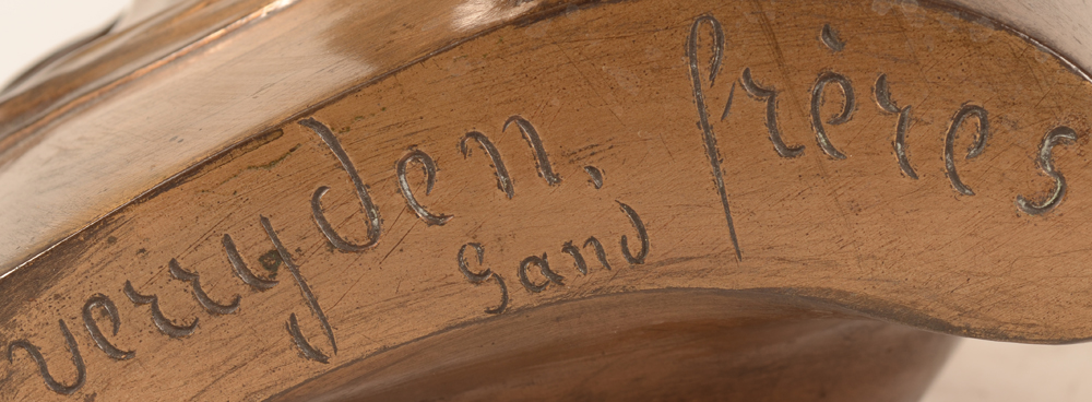 Domien Van den Bossche — Foundry mark of the firm of Verreyden Freres from Gent.