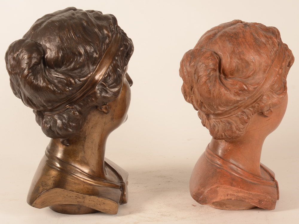 Domien Van den Bossche — View of the back of the heads