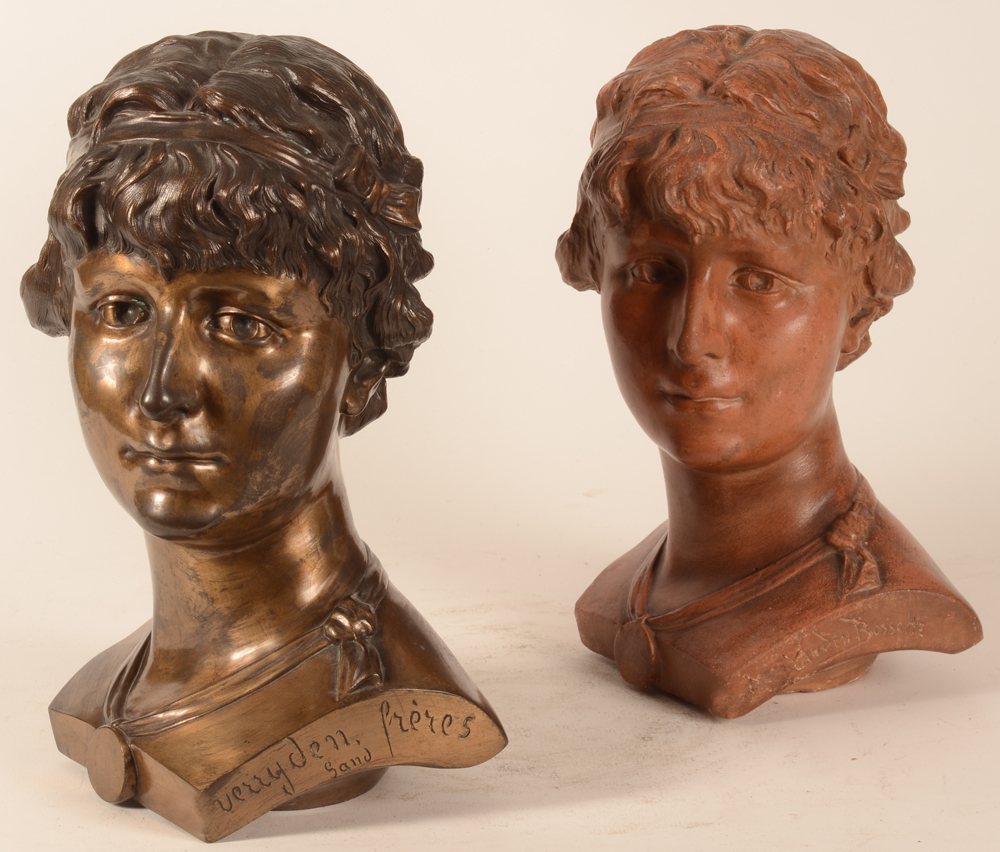 Domien Van den Bossche — Side view of the busts