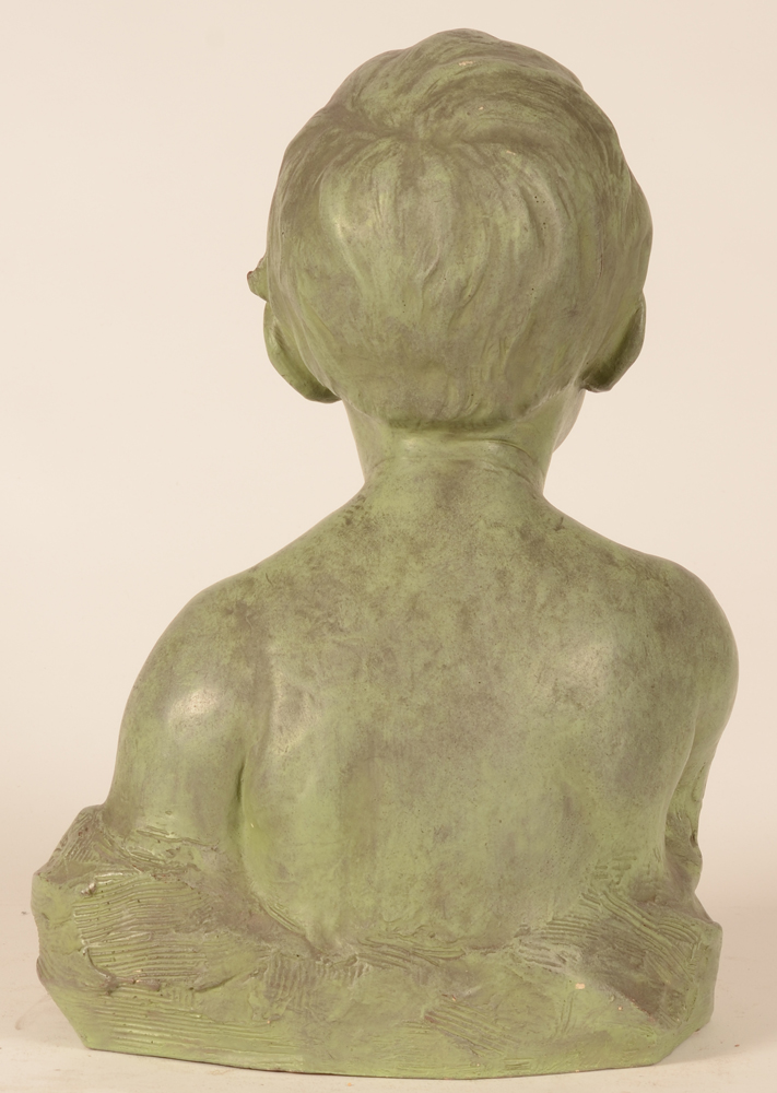 Modest Van Hecke — Back of the bust
