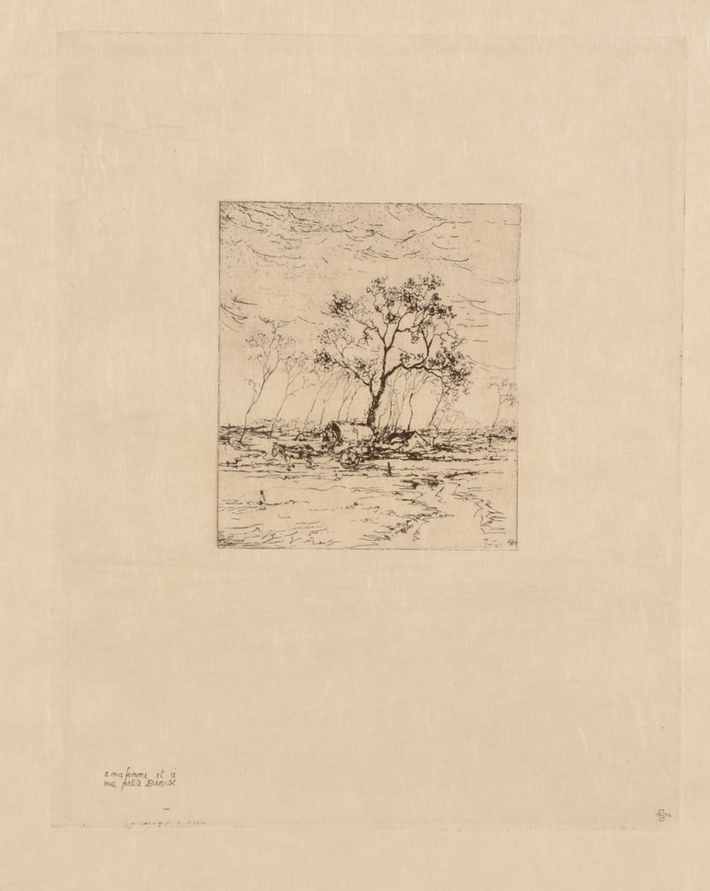 Jules Vanpaemel — One of the smallest etchings of the series