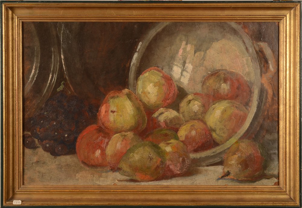 Van Quekelberghe E. (attributed to) Apples — With frame