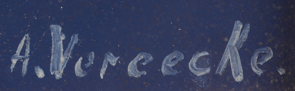 Amand Vereecke — <p>Signature of the artist, bottom&nbsp; right</p>