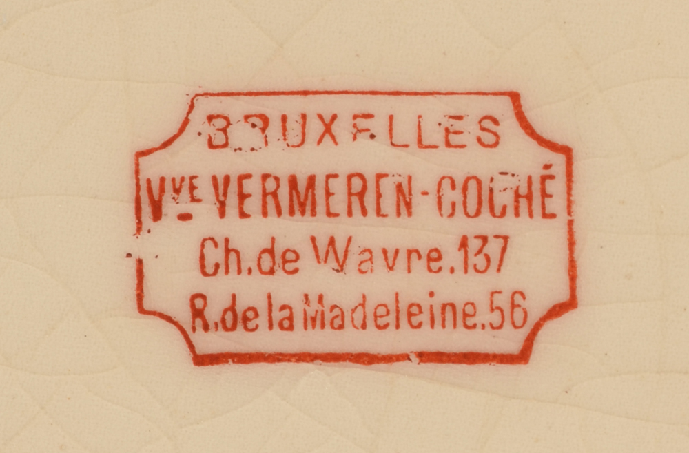 Vermeren-Coche — Mark on the bottom of the piece
