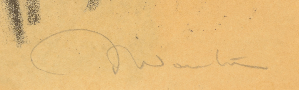 Jef Wauters girl from Spakenburg — Signature