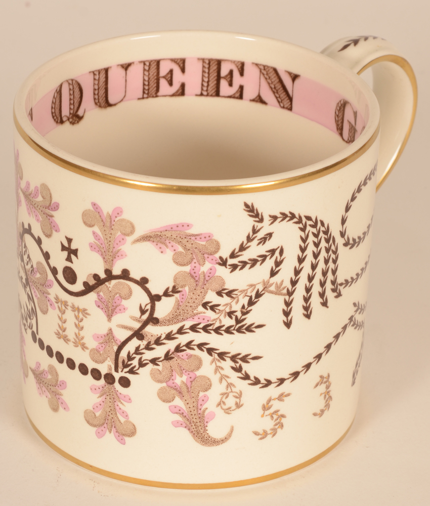 Wedgewood coronation mug 1953 — The mug in good condition