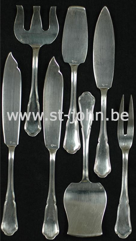 Wolfers Chippendale: serving pieces