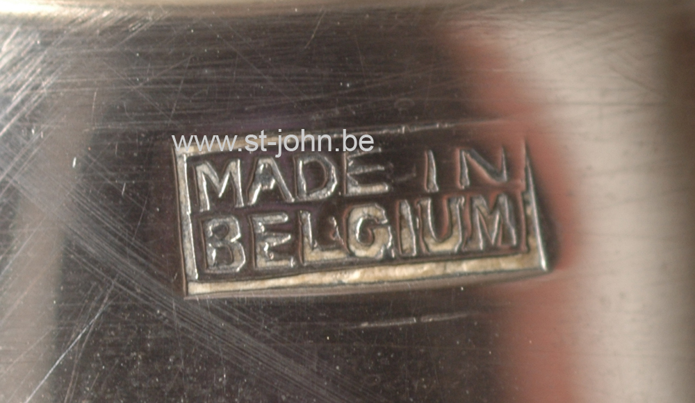 Wolfers Freres: mark Made in Belgium, a very rare exhibition mark, 1930s