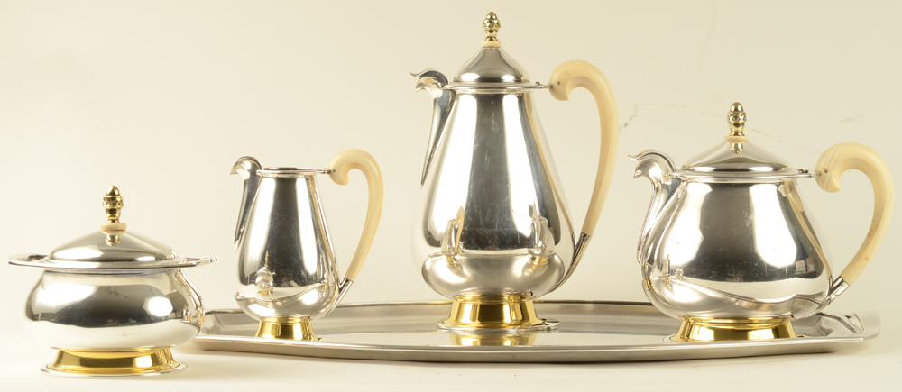 Wolfers Freres Belvedere Coffee and Tea Service