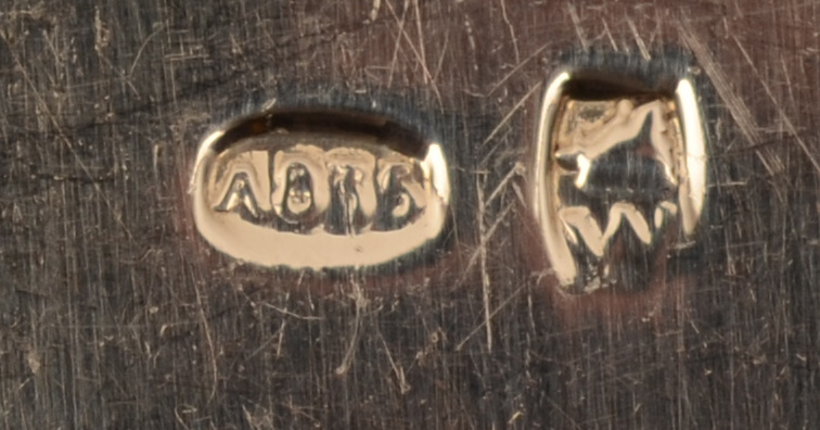 Wolfers Frères S.A. — <p>Marks of Wolfers Frères S.A. on the fishfork and knife</p>