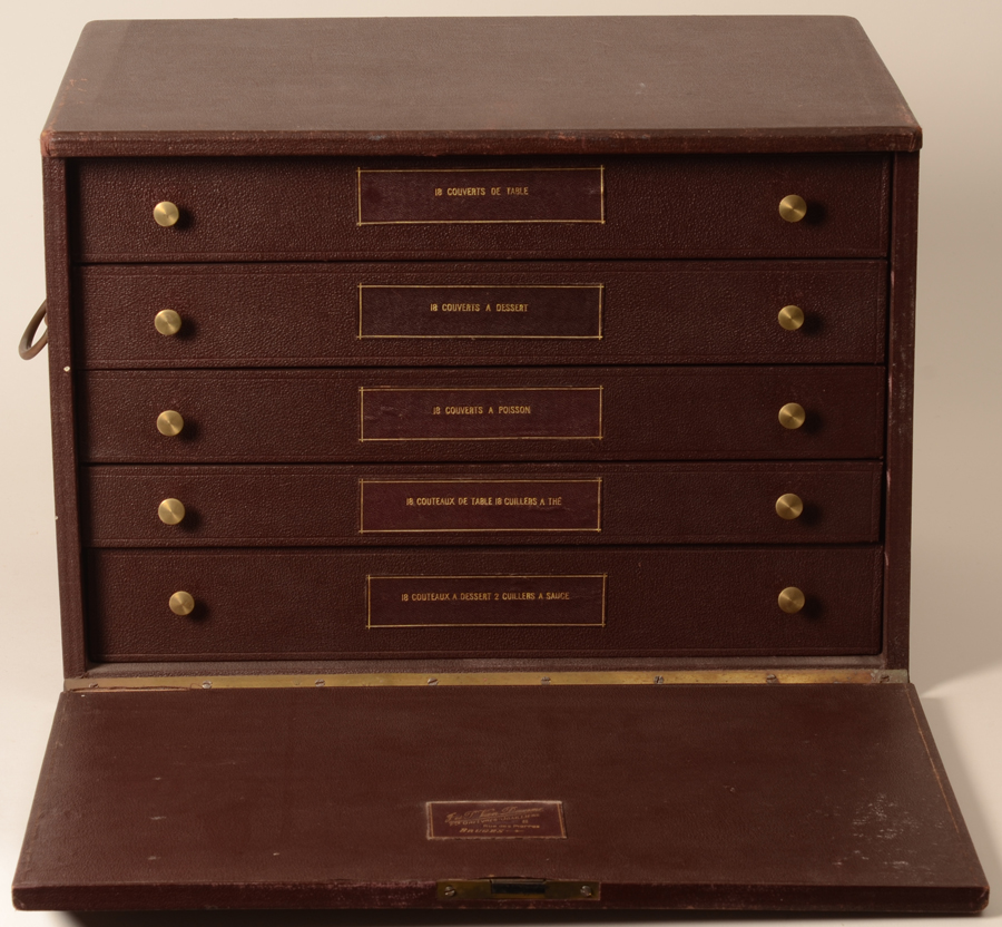 Wolfers Freres — The original storage box of the set