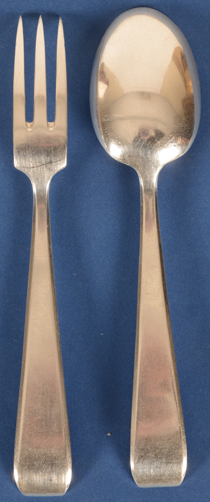Wolfers Frères  — Back of the fork and spoon