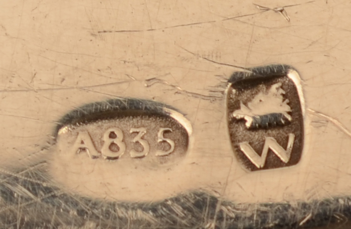 Wolfers Frères S.A — <p>Alloy mark and makers mark of the object</p>