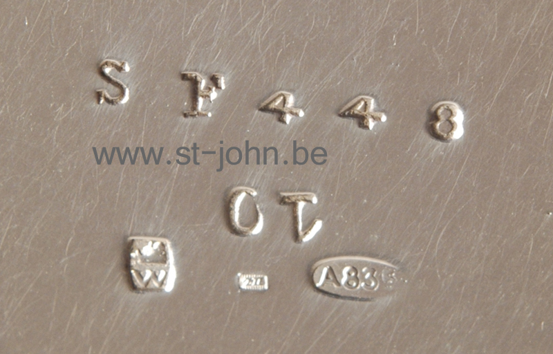 Wolfers Frères S.A.: Sf 448: detail of the mark on the bottom of the jug.